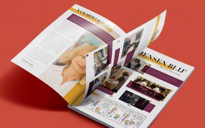 Wat leren deelnemers van het maken van een magazine?